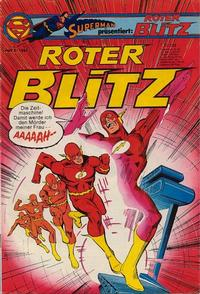 Cover Thumbnail for Roter Blitz (Egmont Ehapa, 1976 series) #8/1980