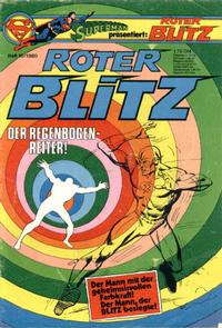 Cover Thumbnail for Roter Blitz (Egmont Ehapa, 1976 series) #10/1980