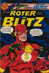 Cover Thumbnail for Roter Blitz (Egmont Ehapa, 1976 series) #13/1980