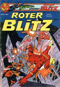 Cover Thumbnail for Roter Blitz (Egmont Ehapa, 1976 series) #2/1981