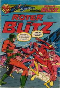 Cover Thumbnail for Roter Blitz (Egmont Ehapa, 1976 series) #3/1981