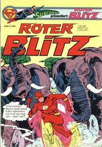 Cover Thumbnail for Roter Blitz (Egmont Ehapa, 1976 series) #5/1981