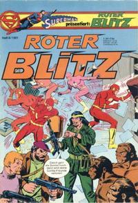 Cover Thumbnail for Roter Blitz (Egmont Ehapa, 1976 series) #6/1981