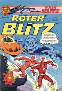 Cover Thumbnail for Roter Blitz (Egmont Ehapa, 1976 series) #7/1981