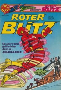 Cover Thumbnail for Roter Blitz (Egmont Ehapa, 1976 series) #8/1981