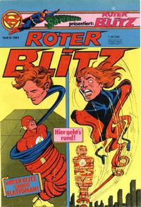 Cover Thumbnail for Roter Blitz (Egmont Ehapa, 1976 series) #9/1981