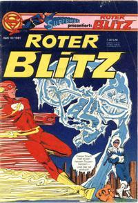 Cover Thumbnail for Roter Blitz (Egmont Ehapa, 1976 series) #10/1981