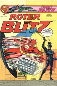 Cover Thumbnail for Roter Blitz (Egmont Ehapa, 1976 series) #11/1981
