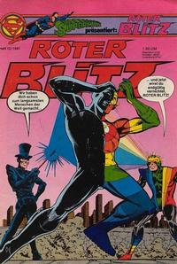 Cover Thumbnail for Roter Blitz (Egmont Ehapa, 1976 series) #12/1981