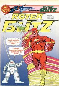 Cover Thumbnail for Roter Blitz (Egmont Ehapa, 1976 series) #11/1982