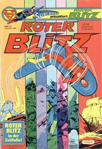 Cover Thumbnail for Roter Blitz (Egmont Ehapa, 1976 series) #12/1982