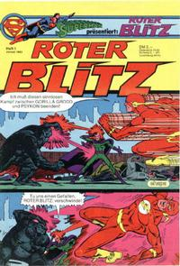 Cover Thumbnail for Roter Blitz (Egmont Ehapa, 1976 series) #1/1983