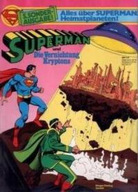 Cover Thumbnail for Superman Sonderausgabe (Egmont Ehapa, 1976 series) #5 - Superman und die Vernichtung Kryptons