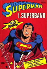 Cover Thumbnail for Superman Superband (Egmont Ehapa, 1973 series) #1