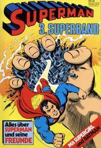 Cover Thumbnail for Superman Superband (Egmont Ehapa, 1973 series) #3