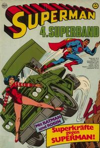 Cover Thumbnail for Superman Superband (Egmont Ehapa, 1973 series) #4