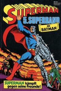 Cover Thumbnail for Superman Superband (Egmont Ehapa, 1973 series) #5