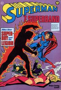 Cover Thumbnail for Superman Superband (Egmont Ehapa, 1973 series) #7