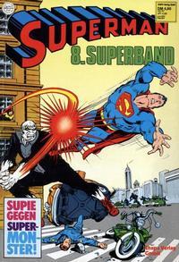 Cover Thumbnail for Superman Superband (Egmont Ehapa, 1973 series) #8
