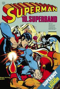 Cover Thumbnail for Superman Superband (Egmont Ehapa, 1973 series) #10