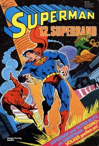 Cover Thumbnail for Superman Superband (Egmont Ehapa, 1973 series) #12