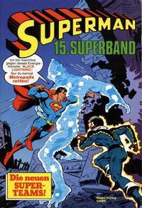 Cover Thumbnail for Superman Superband (Egmont Ehapa, 1973 series) #15
