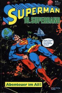 Cover for Superman Superband (Egmont Ehapa, 1973 series) #16
