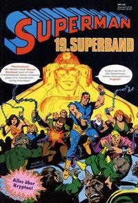 Cover Thumbnail for Superman Superband (Egmont Ehapa, 1973 series) #19