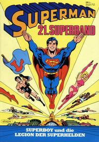 Cover Thumbnail for Superman Superband (Egmont Ehapa, 1973 series) #21