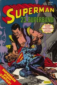 Cover Thumbnail for Superman Superband (Egmont Ehapa, 1973 series) #23