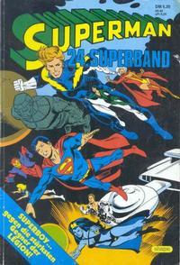 Cover Thumbnail for Superman Superband (Egmont Ehapa, 1973 series) #24