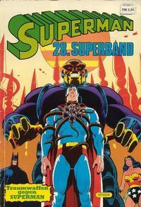 Cover Thumbnail for Superman Superband (Egmont Ehapa, 1973 series) #28