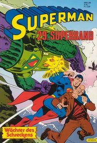 Cover Thumbnail for Superman Superband (Egmont Ehapa, 1973 series) #29