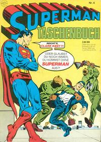 Cover Thumbnail for Superman Taschenbuch (Egmont Ehapa, 1976 series) #4