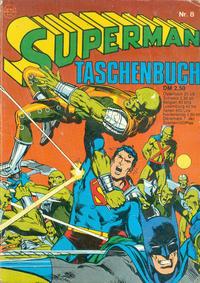 Cover Thumbnail for Superman Taschenbuch (Egmont Ehapa, 1976 series) #8