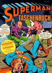 Cover Thumbnail for Superman Taschenbuch (Egmont Ehapa, 1976 series) #10