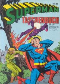 Cover Thumbnail for Superman Taschenbuch (Egmont Ehapa, 1976 series) #21