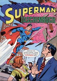 Cover Thumbnail for Superman Taschenbuch (Egmont Ehapa, 1976 series) #22