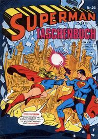 Cover Thumbnail for Superman Taschenbuch (Egmont Ehapa, 1976 series) #23
