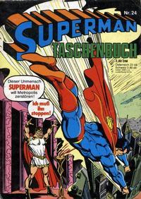 Cover Thumbnail for Superman Taschenbuch (Egmont Ehapa, 1976 series) #24