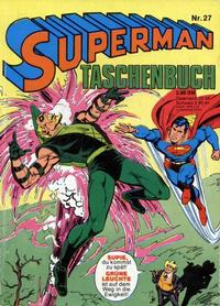 Cover Thumbnail for Superman Taschenbuch (Egmont Ehapa, 1976 series) #27
