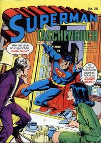 Cover Thumbnail for Superman Taschenbuch (Egmont Ehapa, 1976 series) #28