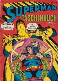 Cover Thumbnail for Superman Taschenbuch (Egmont Ehapa, 1976 series) #29