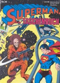 Cover Thumbnail for Superman Taschenbuch (Egmont Ehapa, 1976 series) #30
