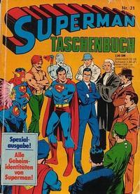 Cover Thumbnail for Superman Taschenbuch (Egmont Ehapa, 1976 series) #31