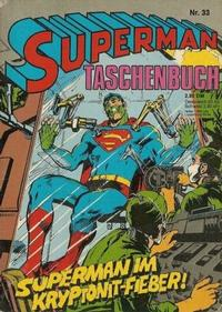 Cover Thumbnail for Superman Taschenbuch (Egmont Ehapa, 1976 series) #33