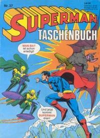Cover Thumbnail for Superman Taschenbuch (Egmont Ehapa, 1976 series) #37