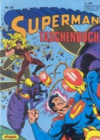 Cover Thumbnail for Superman Taschenbuch (Egmont Ehapa, 1976 series) #40
