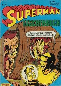 Cover Thumbnail for Superman Taschenbuch (Egmont Ehapa, 1976 series) #41