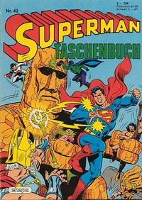 Cover Thumbnail for Superman Taschenbuch (Egmont Ehapa, 1976 series) #43